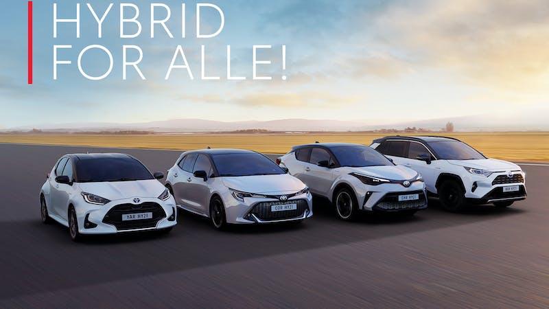 Hybrid for alle!