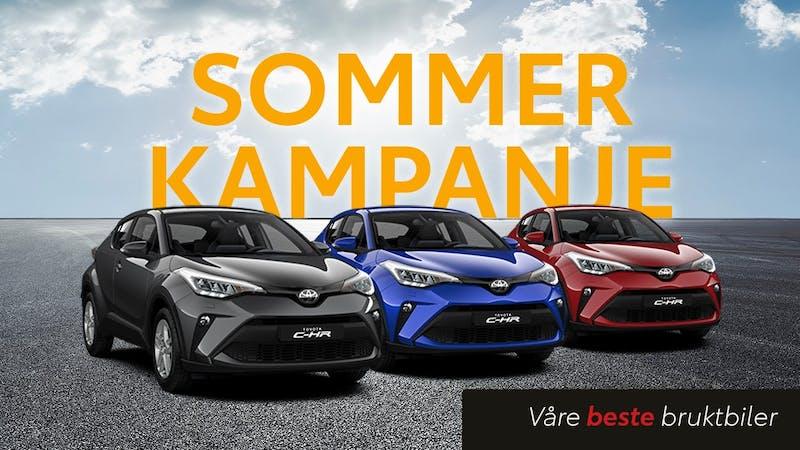 Sommerkampanje brukte Toyota C-HR