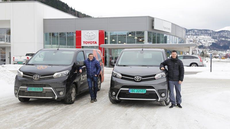 Elektriske varebiler fra Toyota